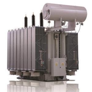 Przykładowy transformator sieciowy produkcji ZREW Łódź